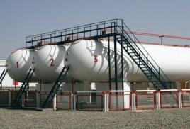 Завод по сжижению природного газа в Пермском крае.